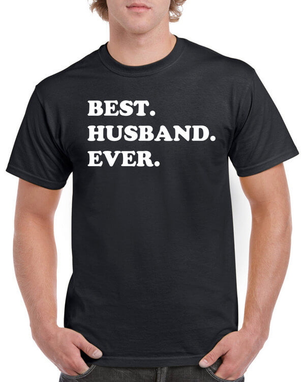 Best Husband Ever T-Shirt - Gift for Husband - Awesome Husband Shirt - Gift for Him