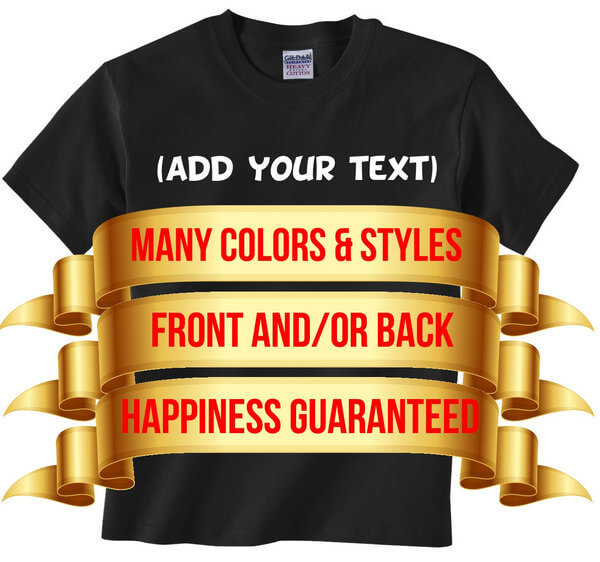 Custom Kids T-Shirt - Custom Youth T-Shirt - Personalized Kids Shirt - Personalized Youth Shirt - Make your own youth t-shirt