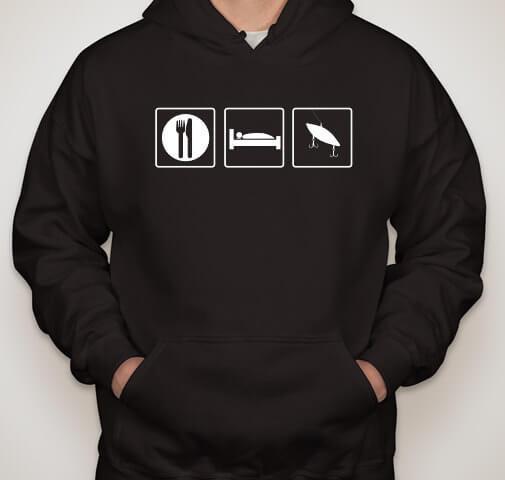 Fishing T-Shirt / Fishing Hoodie / Fishing Sweatshirt Angler (many colors + ladies + unisex + hoodie + sweatshirt available)