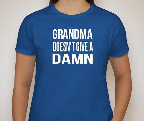 Grandma T-Shirt Grandparents T-Shirt Funny Shirt Birthday Shirt (many colors + ladies + unisex + hoodie + sweatshirt available)