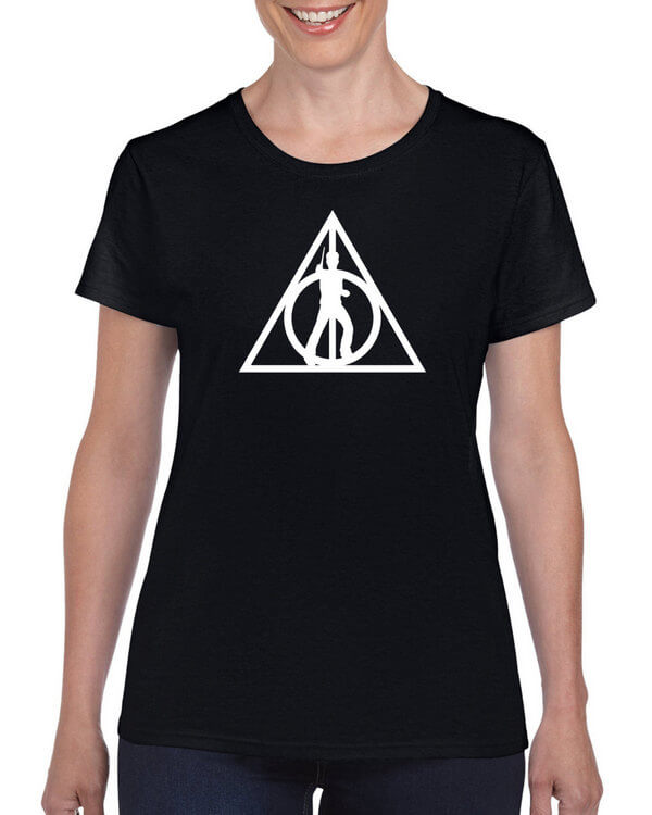 Harry Potter T-Shirt - Harry Potter Shirt - Deathly Hallows Shirt - Muggles  (Colors Available)