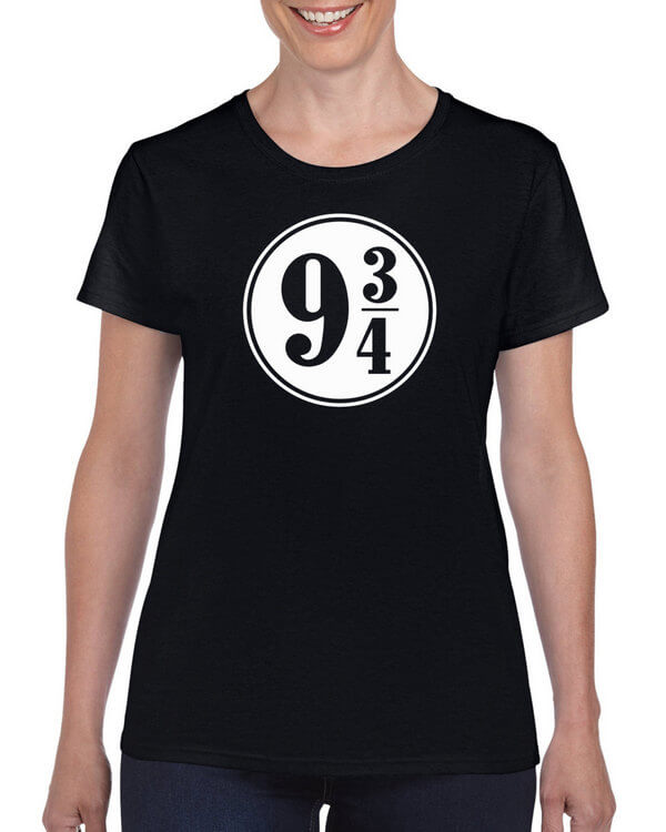 Harry Potter T-Shirt - Hogwarts Express - 9 3/4 - nine and three quarters - Harry Potter Train  (Colors Available)