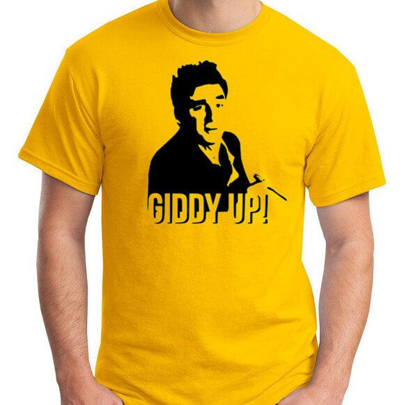Seinfeld T-Shirt Cosmo Kramer T-Shirt Seinfeld TV Show T-Shirt in Unisex and Ladies