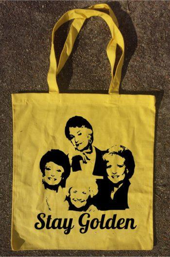 Stay Golden Golden Girls Handbag Tote TV Show