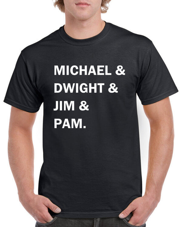 The Office TV Show Shirt - Michael Scott Dwight Schrute Pam Beesly Jim Halpert - Funny Office Shirt