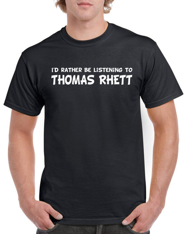 Thomas Rhett Shirt - Thomas Rhett Fan Shirt - Country Music T-Shirt - Thomas Rhett Shirt For Fans - Thomas Rhett Gift