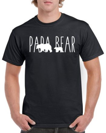 Papa Bear Shirt - Fathers Day Gift - Gift For Dad - Fathers Day Shirt