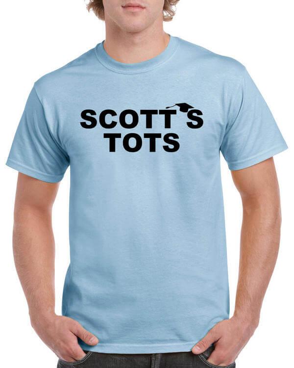 The Office T-Shirt - Scotts Tots Shirt - Scotts Tots T-Shirt - Michael Scott Shirt - Office TV Show Shirt - Dunder Mifflin Shirt